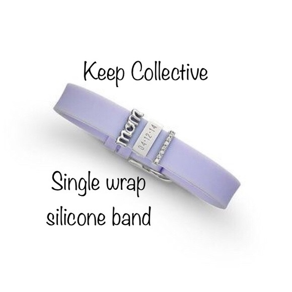 KEEP Collective Jewelry - Keep Collective Lavender Silicone Band Keeper